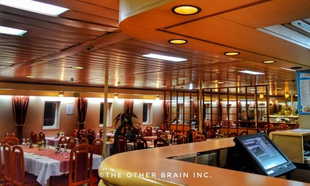 Fine dining restaurant in Jadrolinija Ferry