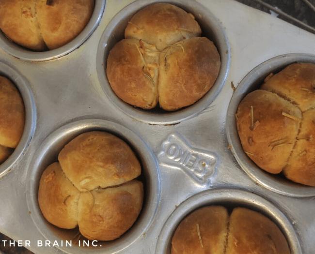 Cloverleaf bun recipe