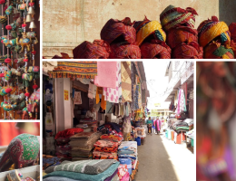 What is famous for shopping in Jaipur