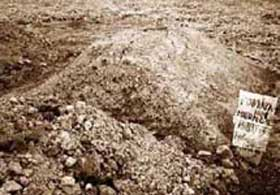 mass grave in chechnya. Source: memorial.ru