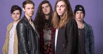 Press image of Oh, Weatherly band