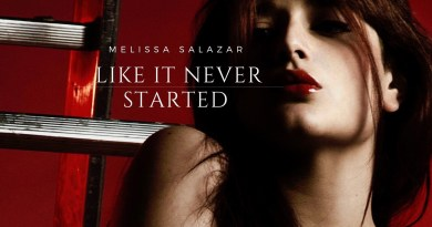 Melissa Salazar Like It Never Started cover