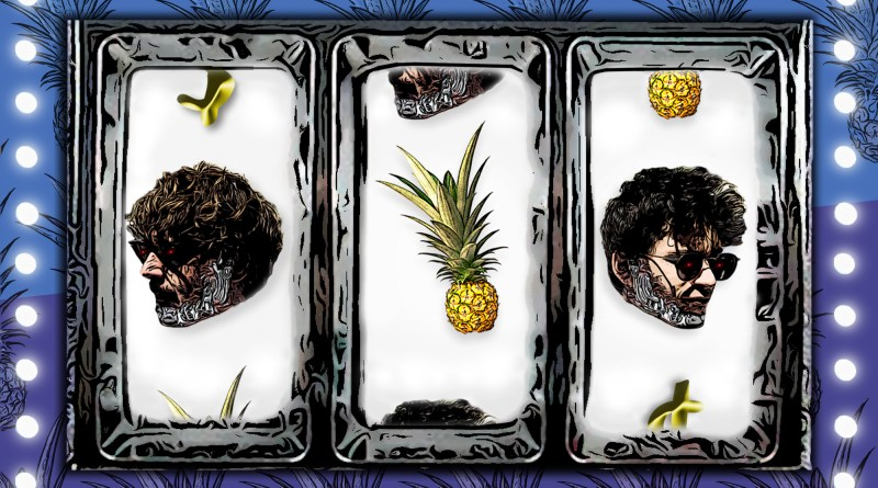 Slow Pineapple Almost Human cover