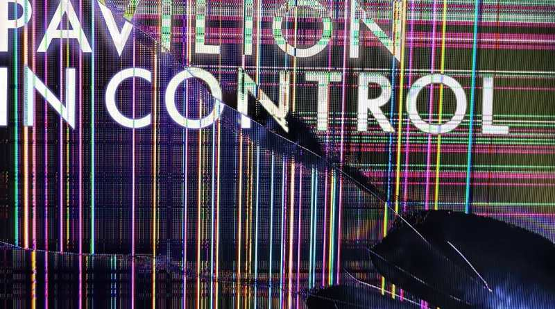 Pavilion band in control artwork