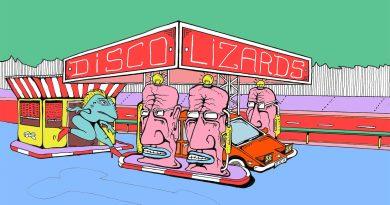 Disco Lizards art