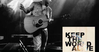 Brian Mackey Keep the World Alive cover