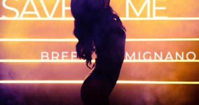 Bree Mignano Save Me single cover