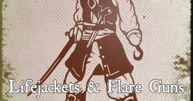 The Archivist Lifejackets & Flare Guns single cover