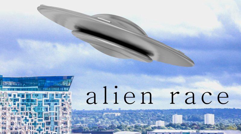 Paul Alexander Low Alien Race single cover