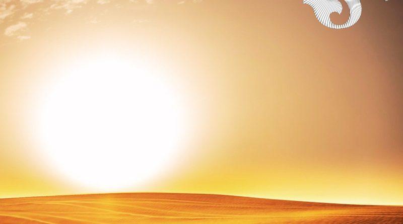 Chrome Sky Desert Sun single cover