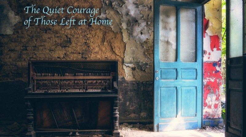 Tison Duni The Quiet Courage of Those Left at Home single cover