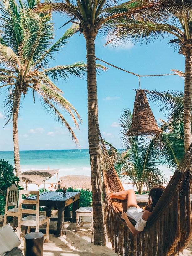 hammock maya nest bar tulum