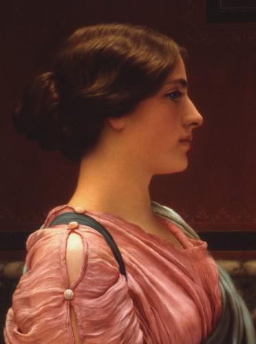 A Classic Beauty John Willia Godward - possible Maeven