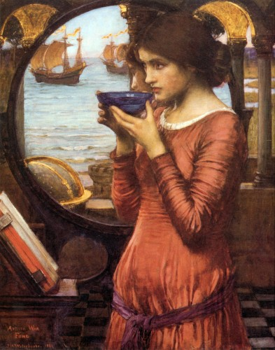 Destiny JW Waterhouse 1900 - possilbe Maeven or Caenne