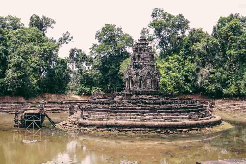 Neak Pean temple siem reap cambodia