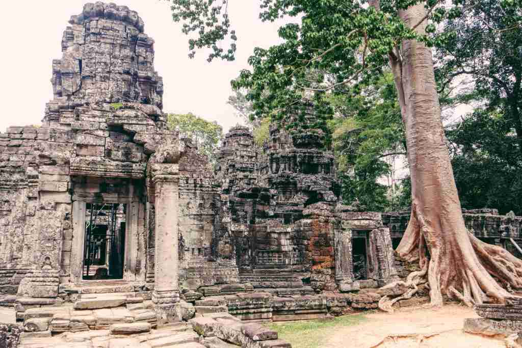 banteay kdei temple siem reap cambodia