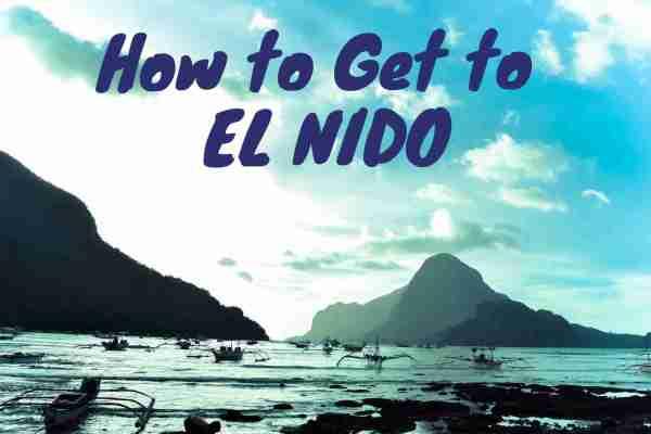 how to get to el nido palawan