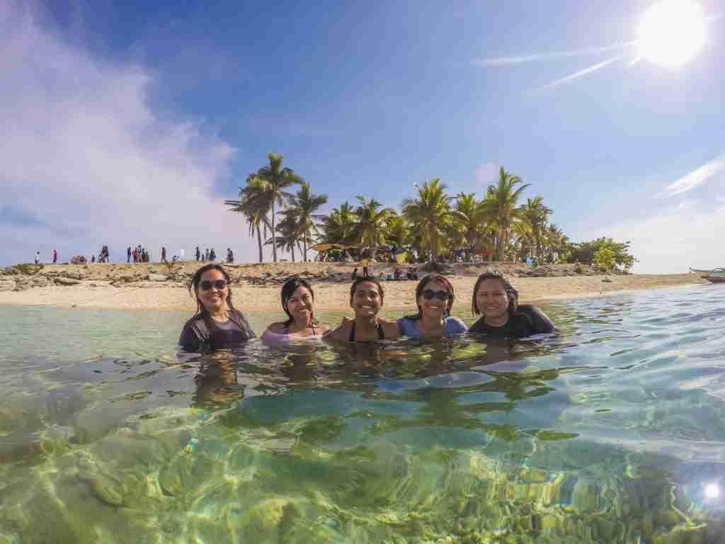 gopro shot in water in tinalisayan island in burias masbate