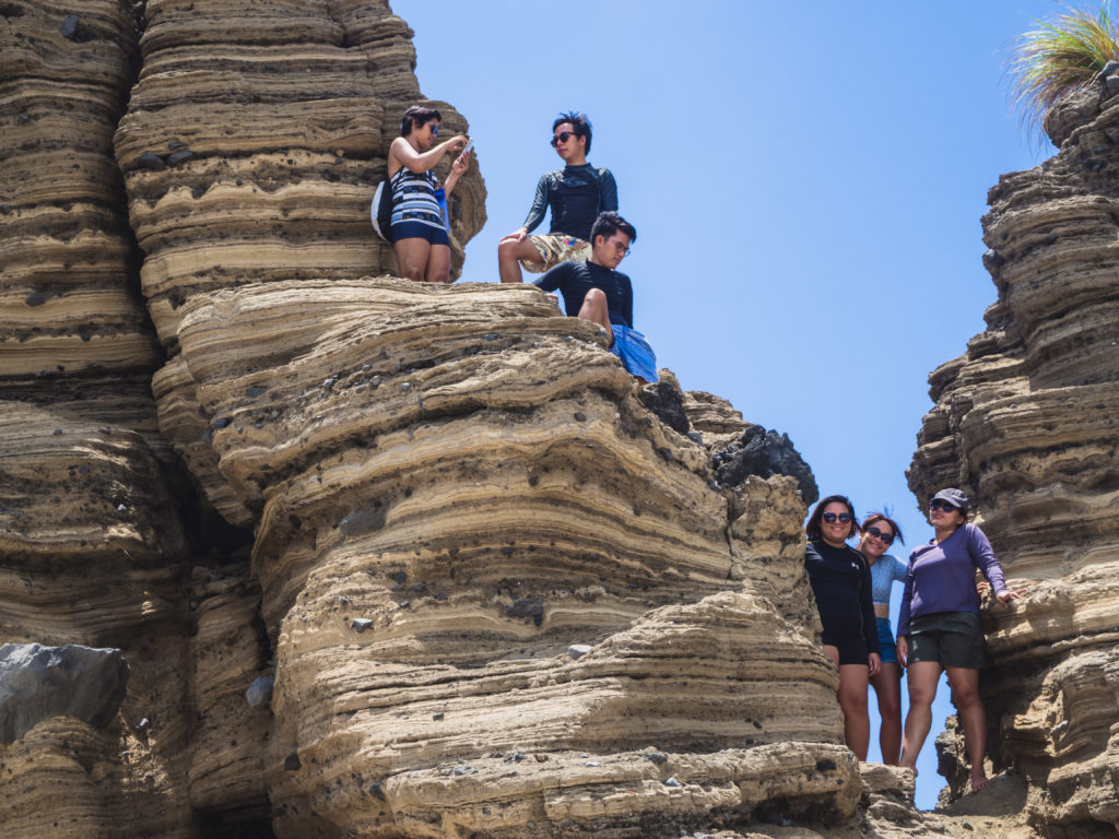 rock formations in animasola island in burias masbate