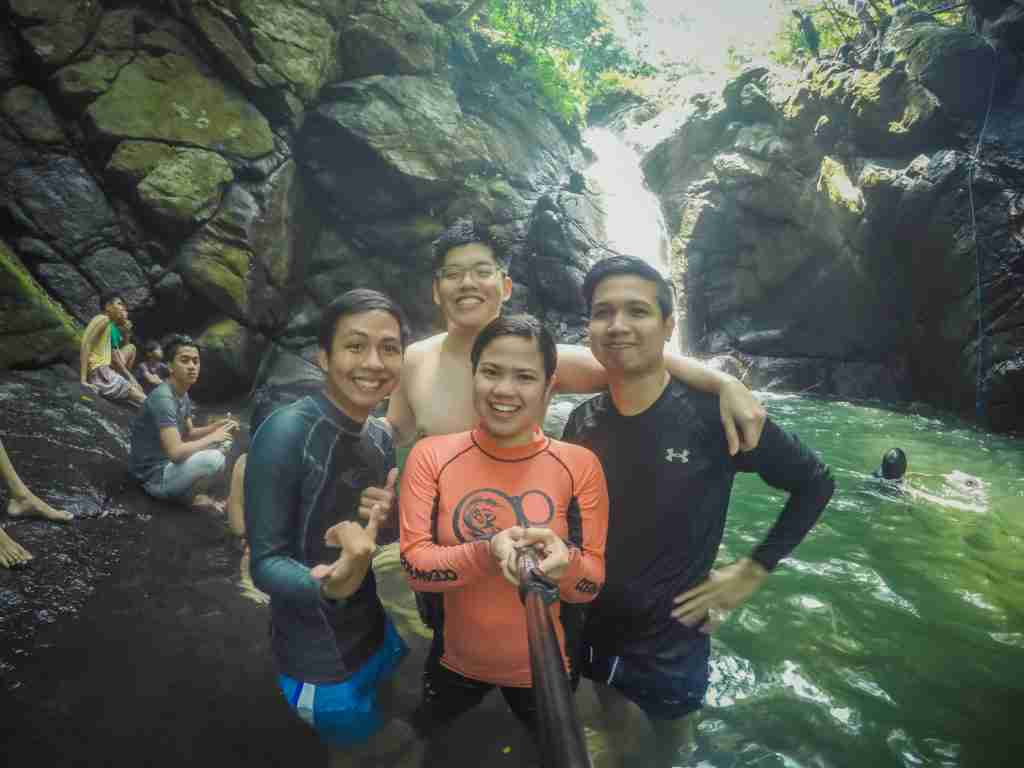 nonok falls in real quezon