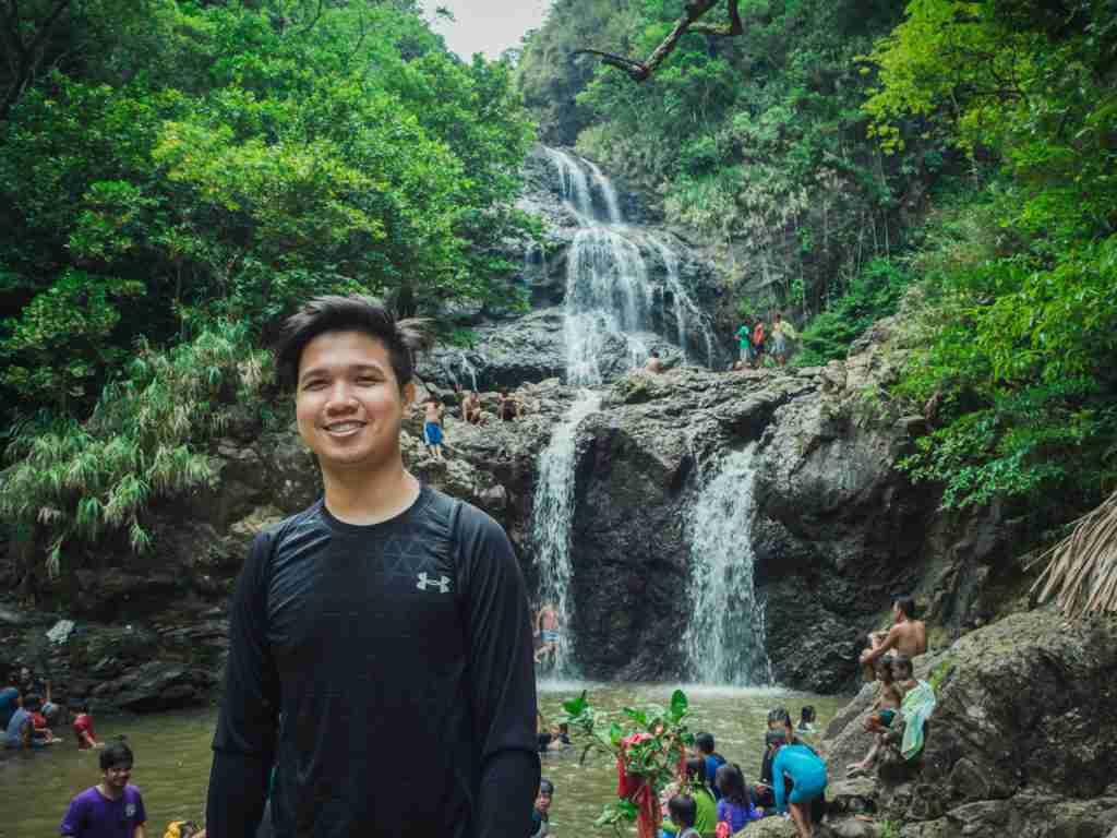balagbag falls in real quezon