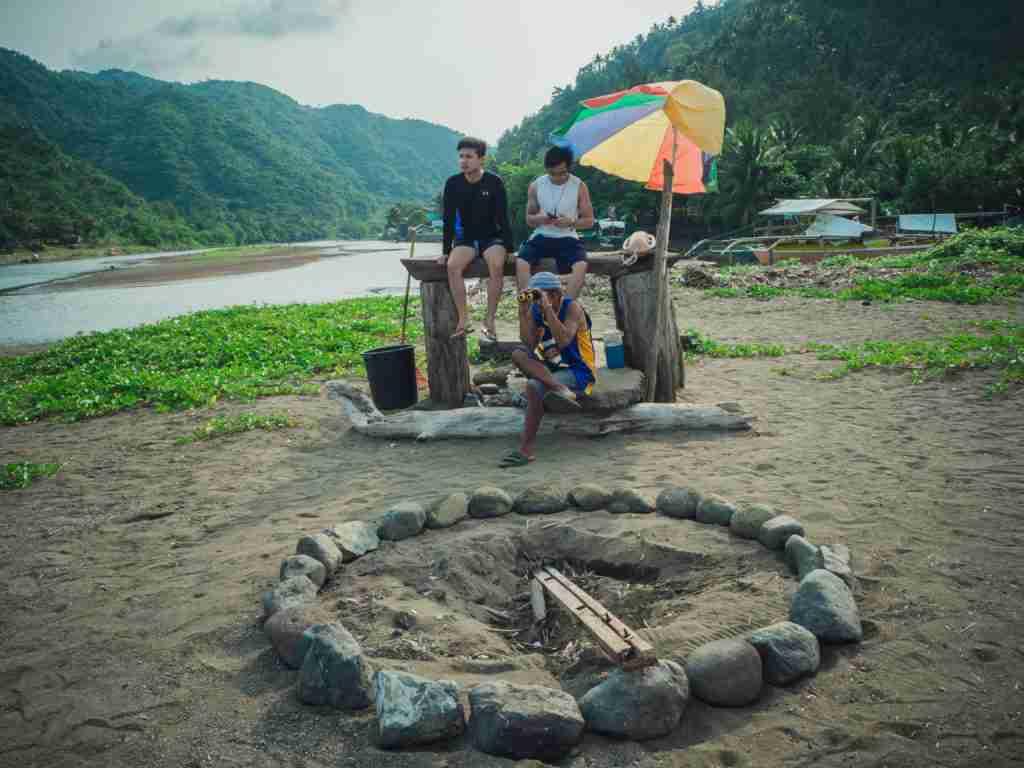 bonfire place in real quezon
