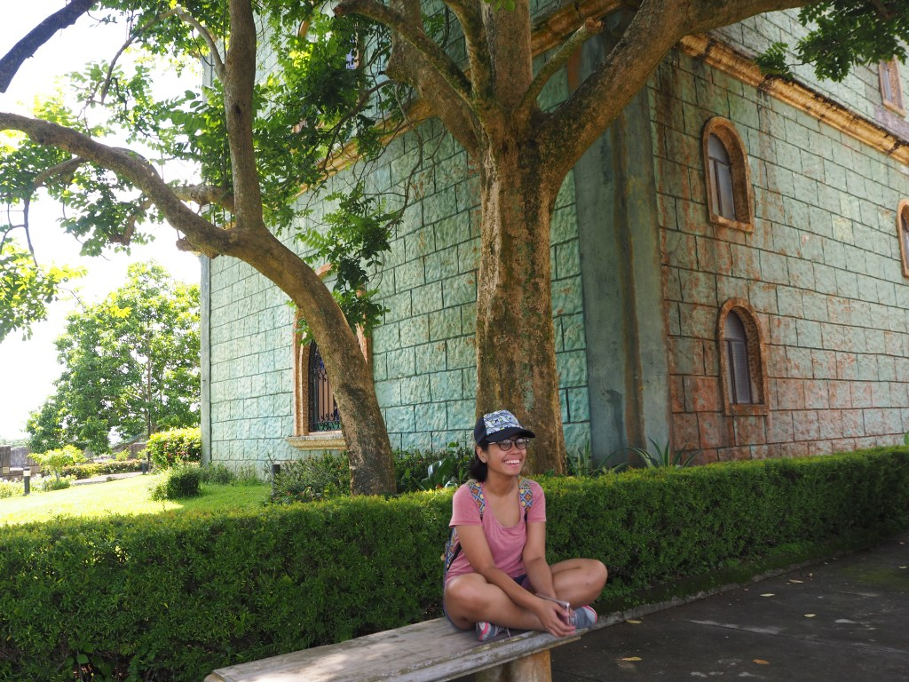 sitting in the bench fantasy world in lemery batangas