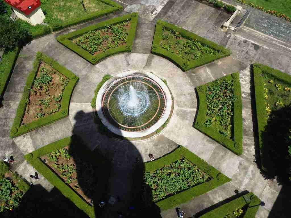 water fountain in fantasy world in lemery batangas