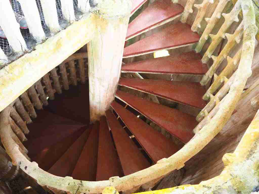 rotating staircases in fantasy world in lemery batangas