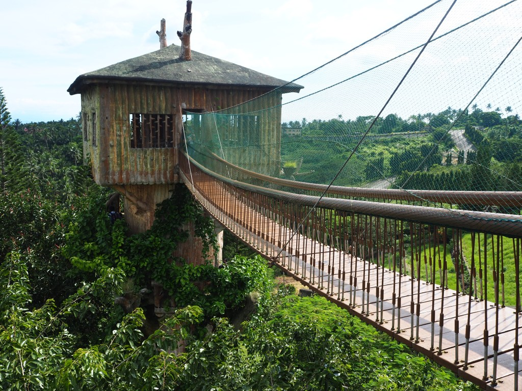 tree house and hanging bridge fantasy world in lemery batangas