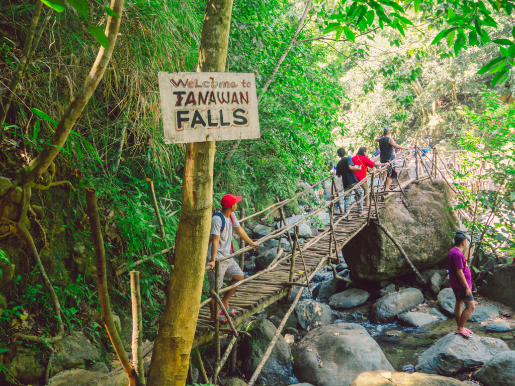 Welcome to Tanawan Falls in dingalan aurora
