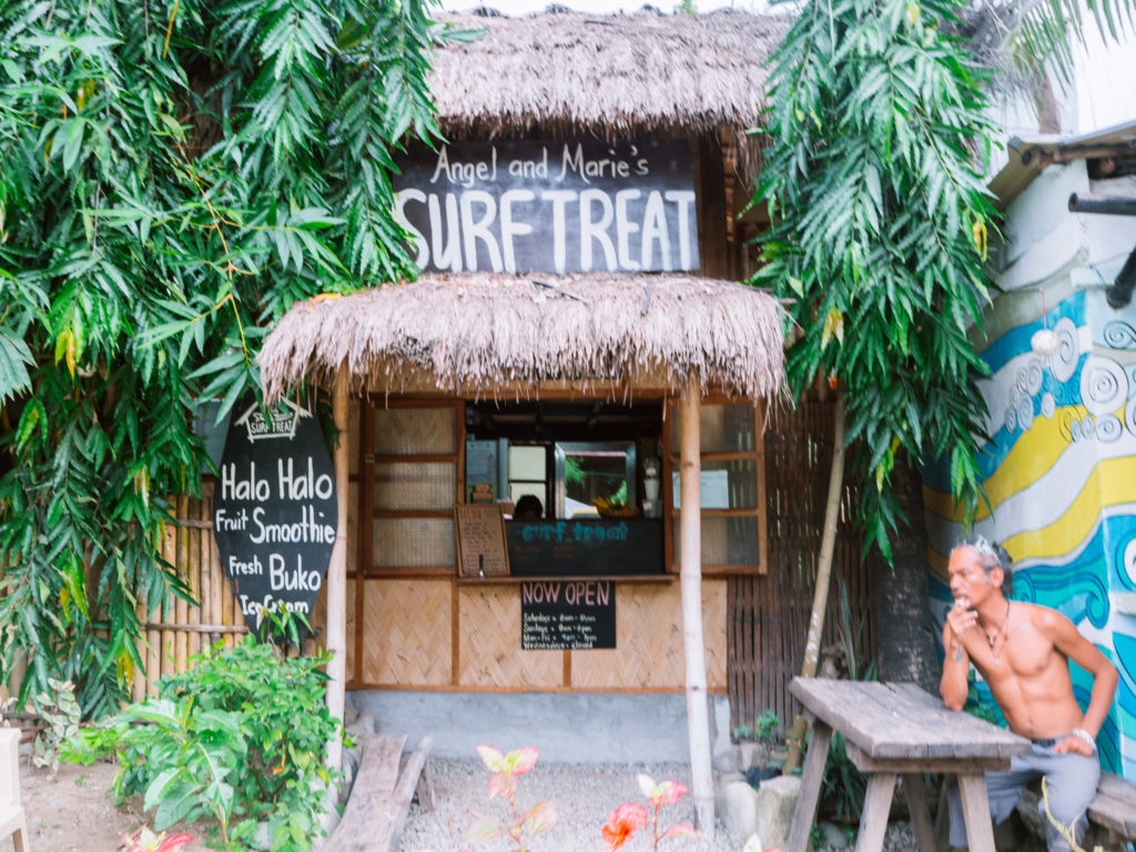 Angel and Marie's Surf Treat La Union