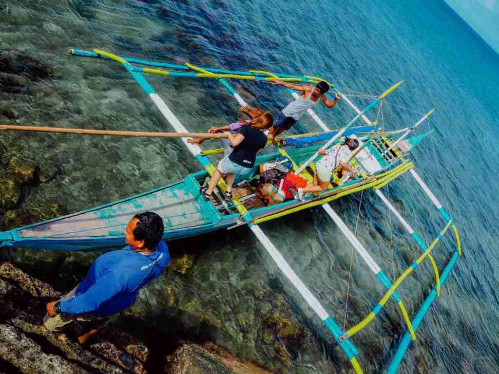 Kawayan to Sambawan Island boat
