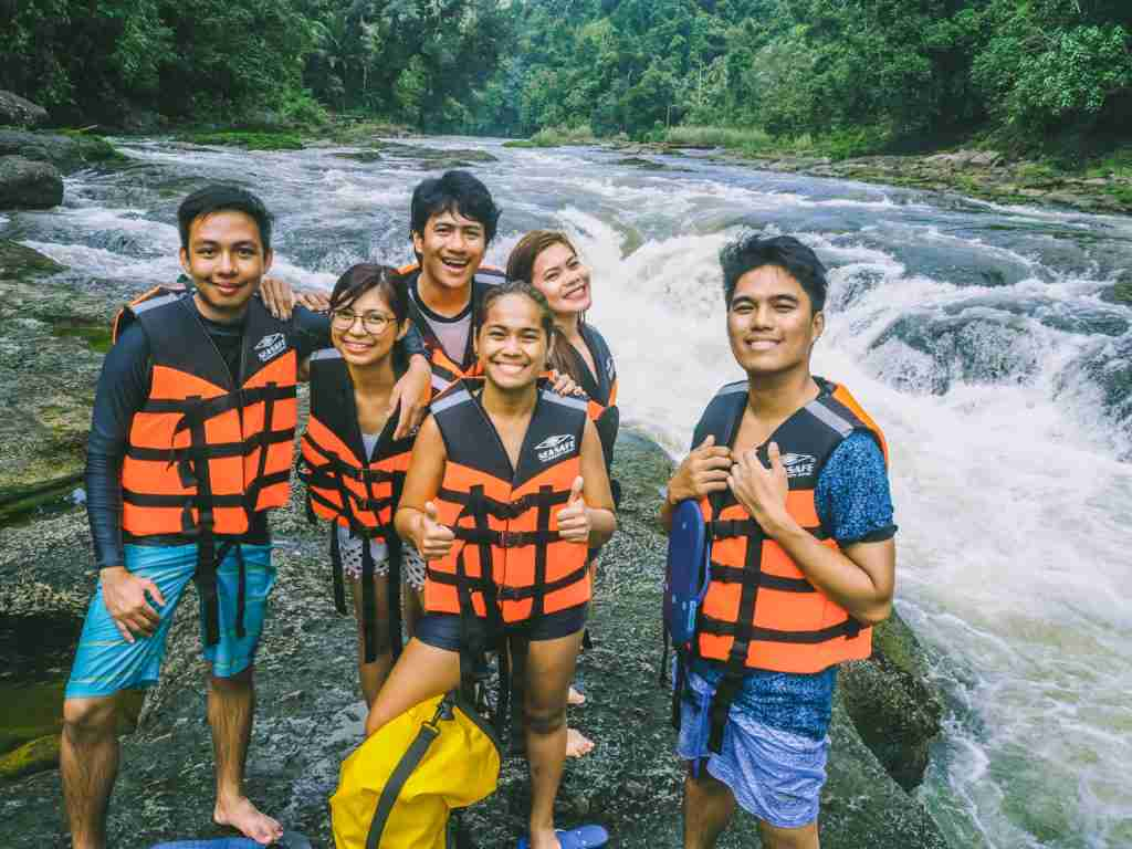 Deni's point in Ulot River in Paranas Samar