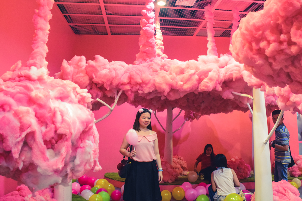 cotton candy dessert museum manila