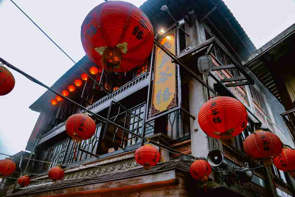 6 days Taiwan itinerary and travel guide Jiufen Old street