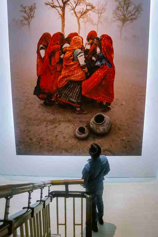 Steve McCurry exhibit in Museum of Contemporary Arts Taipei