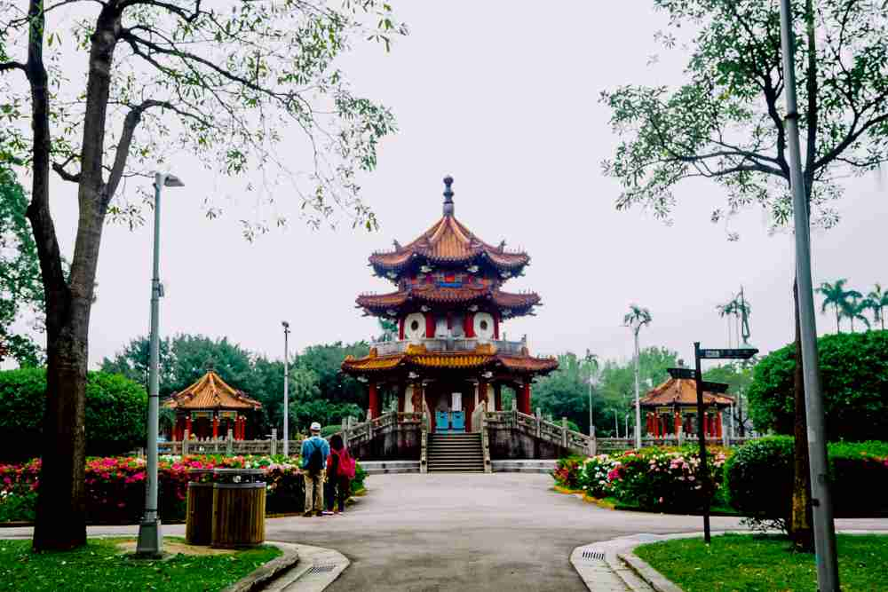6 days Taiwan itinerary and travel guide Peace park