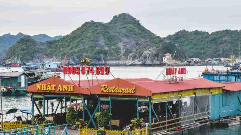 north vietnam travel itinerary cat ba island