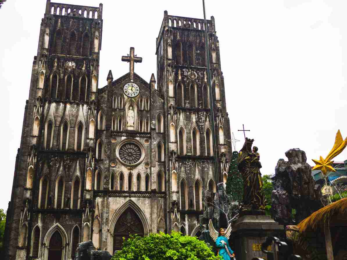 north vietnam travel itinerary st joseph cathedral hanoi
