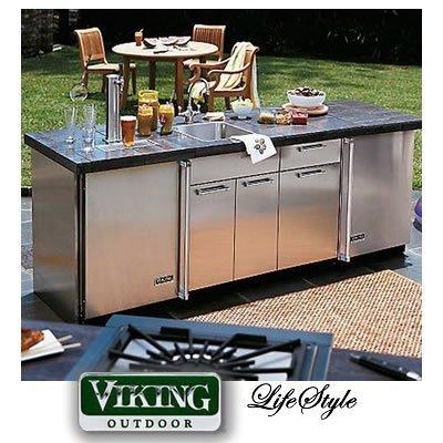 viking outdoor series 24 inch sink base