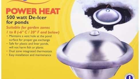 Lagune Power Heat De-Icer & Heater for pond