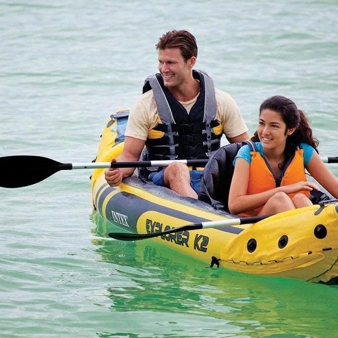 Intex Explorer K2 Kayak In Use