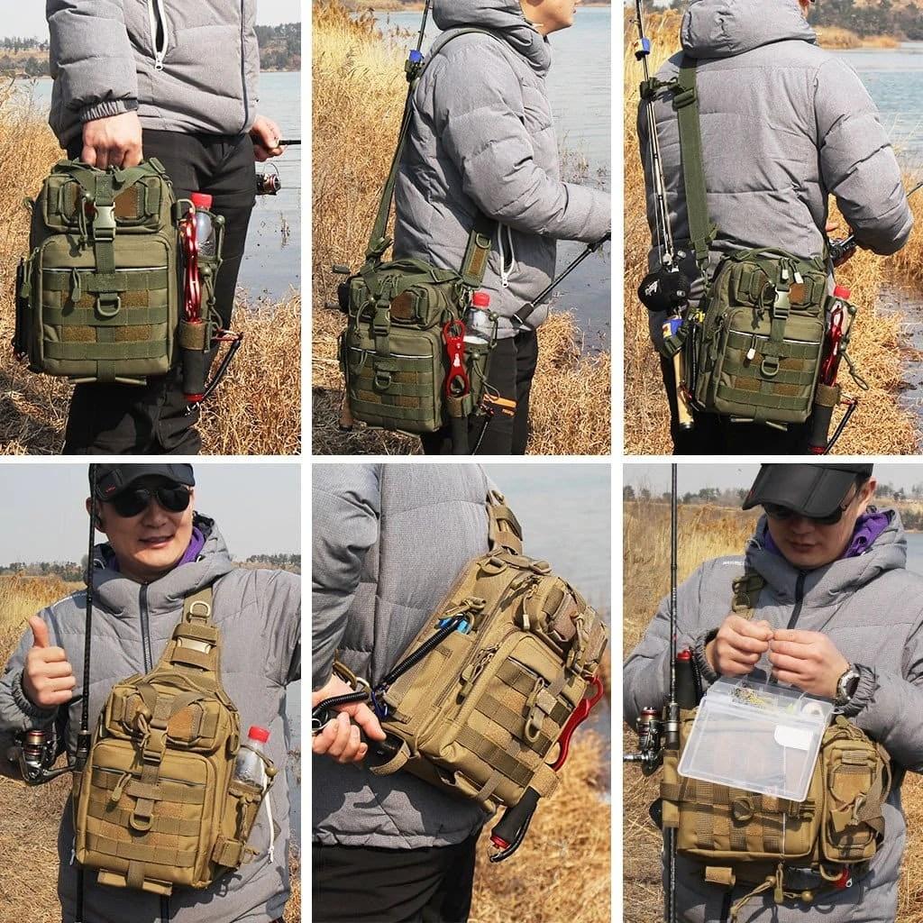 BLISSWILL Outdoor Tackle Bag Multifunctional