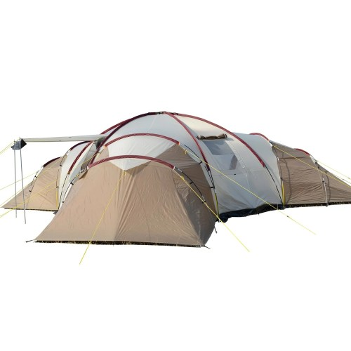 Skandika Turin 12-Person Tent 3 Rooms