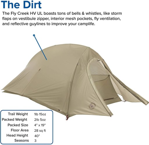 Big Agnes Tent Features