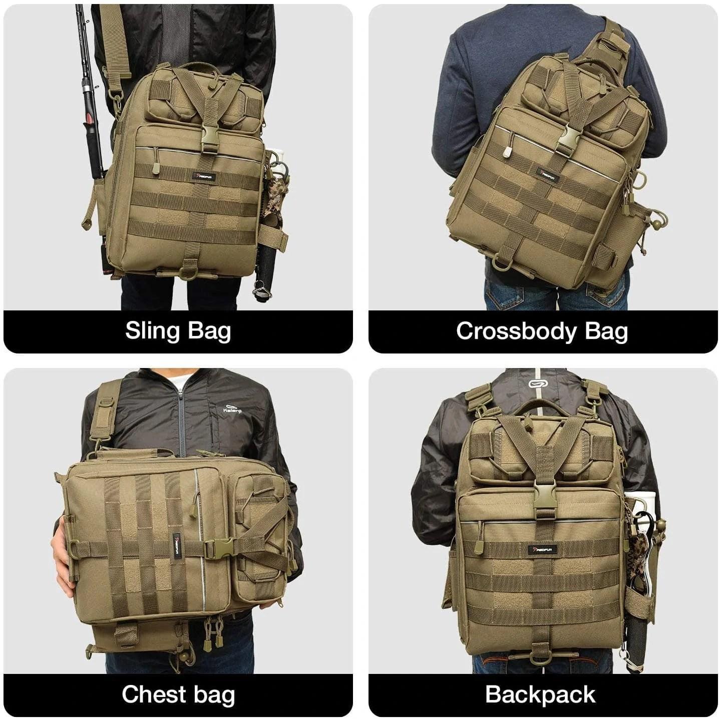 Piscifun Fishing Tackle Storage Bag Types