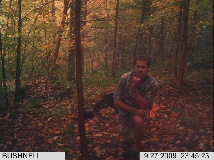 Early season trailcam scouting