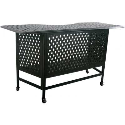 Darlee Series 60 Cast Aluminum Patio Party Bar