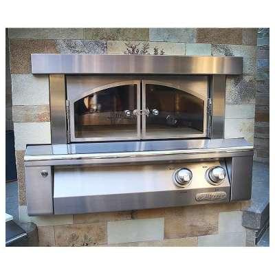 Alfresco 30-Inch Built-In Outdoor Pizza Oven
